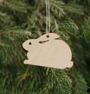 Birchwood Decorations Bunny