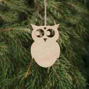 Birchwood Decorations Owl