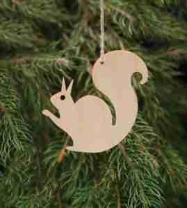 Birchwood Decorations Squirrel