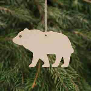 Birchwood Decorations Bear
