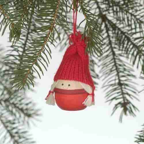 Tomte Girl Ornament