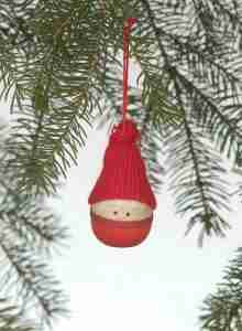 Tomte Boy Ornament
