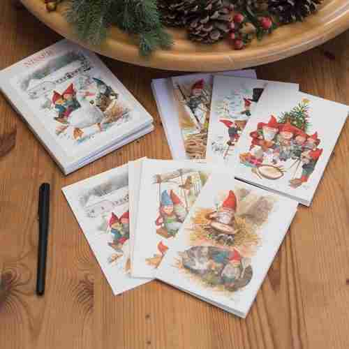 Danish Nisse Note Cards