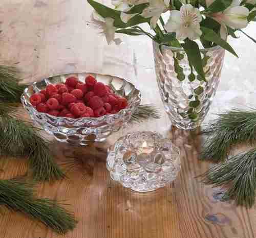 Orrefors Raspberry Pattern