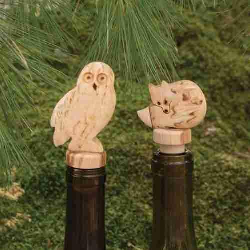 Burlwood Bottletoppers
