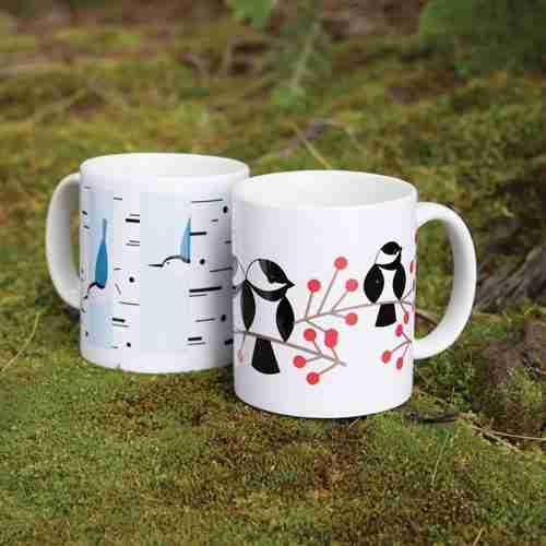 Ceramic Bird Mugs