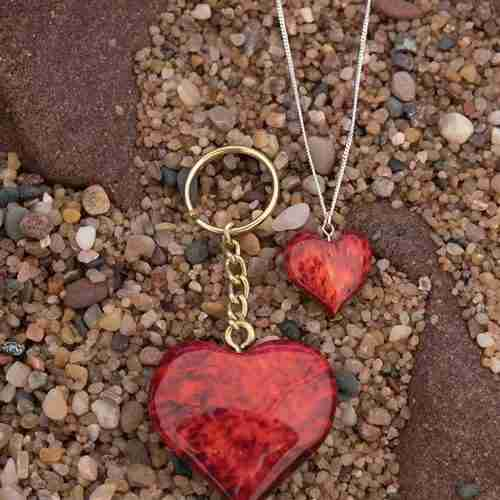 Burlwood Hearts from Finland