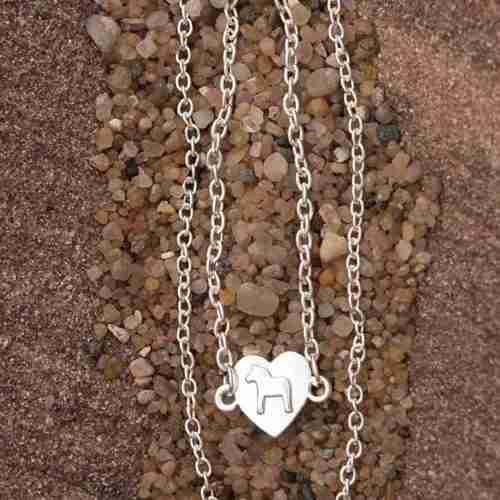 Ana Viktoria Dala Horse Necklace