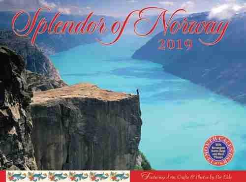 Splendor Of Norway 2019 Calendar