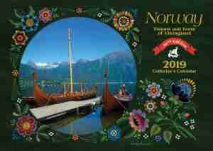 Norway Visions and Verses 2019 Calendar