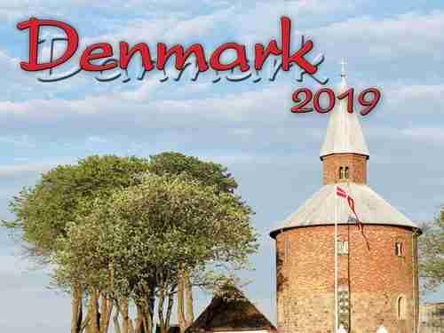 2019 Denmark Calendar