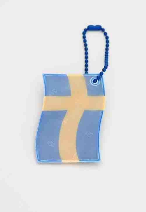 Swedish Flag Glimmi Reflector