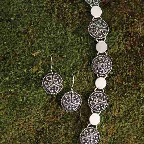 Norwegian Pewter Jewelry