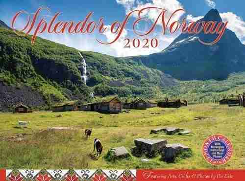 2020 Splendor Of Norway Calendar