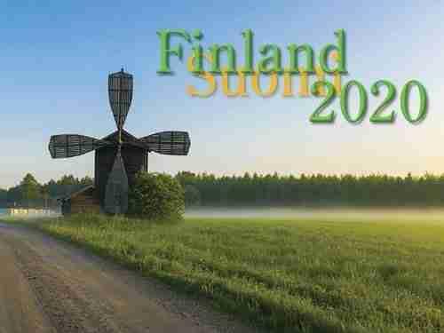 2020 Finland Calendar