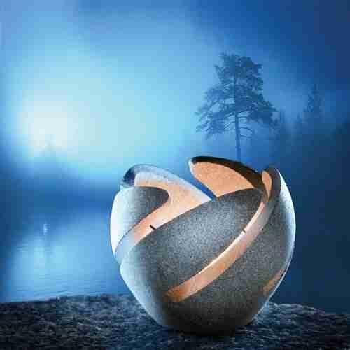 Finnish Stone Votive