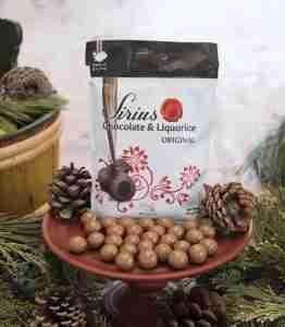 Sirius Chocolate Liquorice Balls