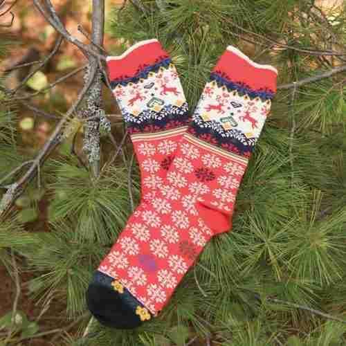Reindeer Socks