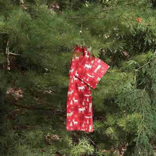 Klippan of Sweden Christmas Forest Pattern
