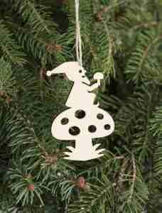 Gnome Laser Cut Ornaments