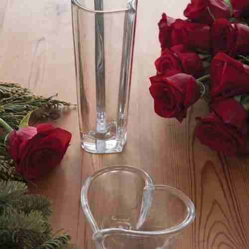 Orrefors Heart Glass