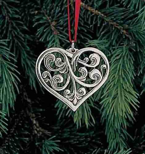 rosemaled heart