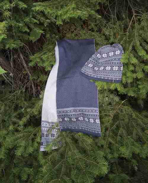 Merino Wool Scarf & Cap