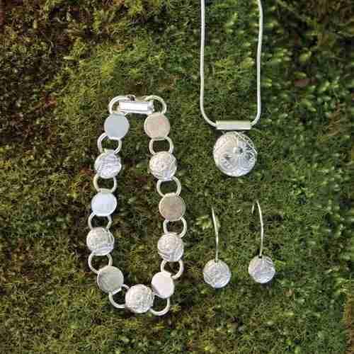 Ragenhild Norwegian Pewter Jewelry
