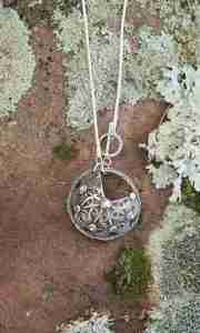Norwegian Pewter Necklace