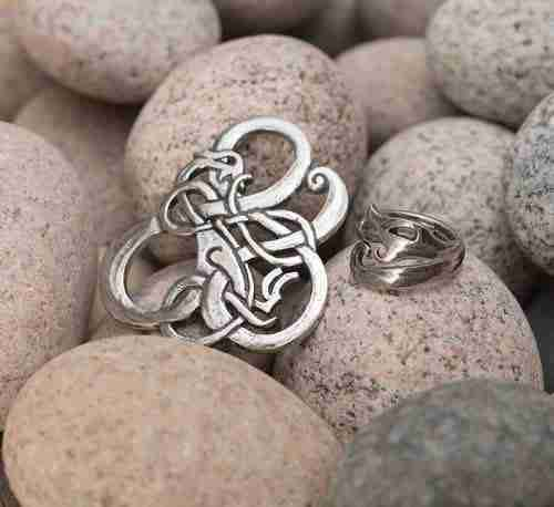 Urnes Pewter Jewelry