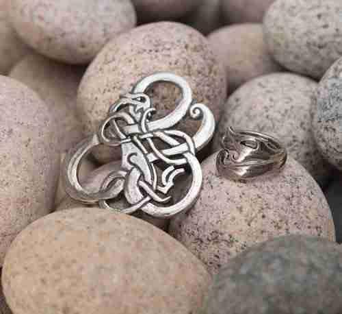 Urnes Pewter Jewelry